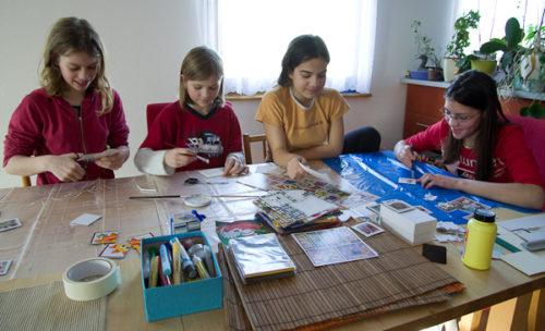 Jesenické tvoření 29. 1. 2011