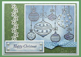 Vánoce v bleděmodrém