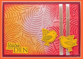 Báječný den s tebou – žlutooranžový