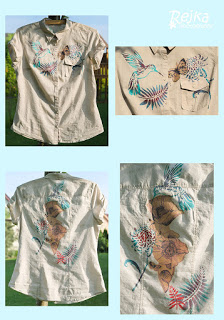 Dekorování triček a košile – můj nový relax