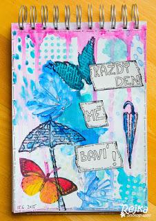Každý den mě baví – art journal