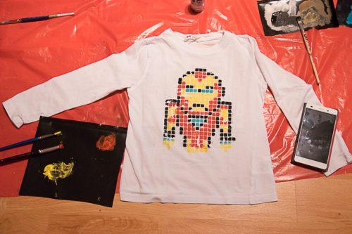 Malovaná trička s Rejkou 2016