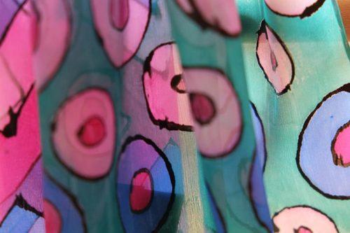 Malování na hedvábí s Rejkou 2013