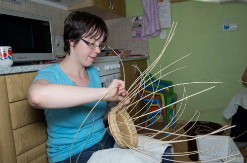 Pletení košíků s Rejkou 2013