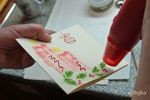 Vánoční přání s Rejkou v Jesenici 2013