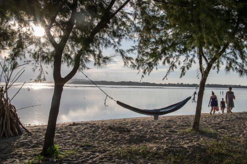 Pláž na Gili Air - foto Rejka Balcarová