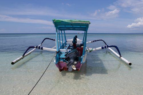 Šnorchlování na Gili Air - foto Rejka Balcarová