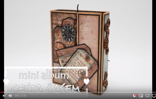 Mini album Cesta časem