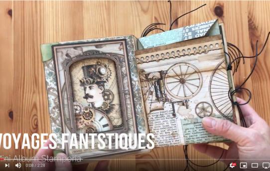 Mini Album Voyages Fantastiques