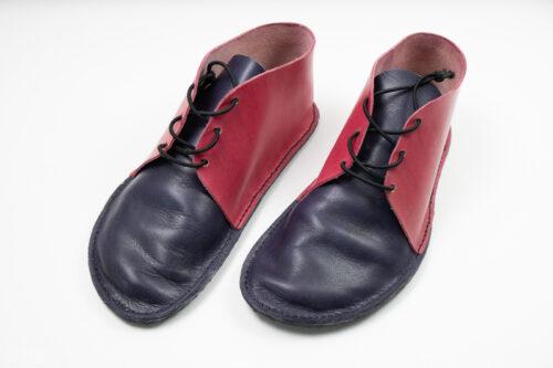ručně šité boty z kůže podle kurz Veroniky Mocové