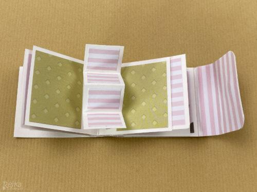 pop-up pro čtyři fotky v mini minialbu
